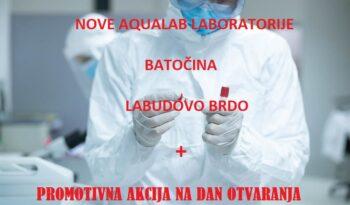 Nove Aqualab laboratorije